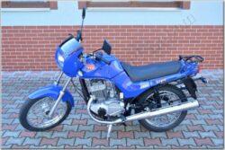 Motocycle Jawa 350/ 640 Style blau - blue