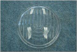 Glass headlight lens ( Manet 90 ) w/ logo cat
