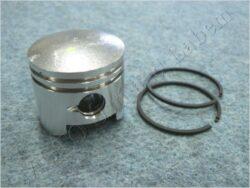 Piston set - piston+rings 44mm - pin 12mm ( Mini Bike )