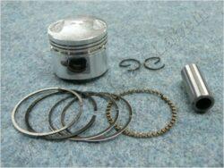 Piston set - pin 13 (  GY6, 50 ccm ) 4T