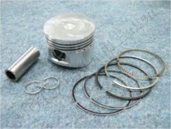 Piston set - pin 15 ( GY6 , 125 ccm )