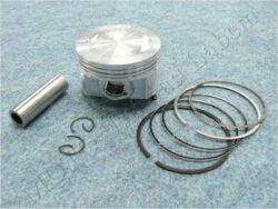 Piston set - pin 17 ( CB 200-250 ccm ) 4T