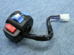 Headlight dimmer switch, turn signal + horn button -  wireharness ( scooter )