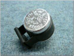 flasher switch (UNI) 3-pin, 6V 8-23Wmem - black (TOKOZ)