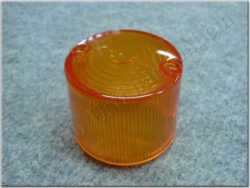 Glass round, turn signal light ( Honda CB,CJ r.v.72-81 )