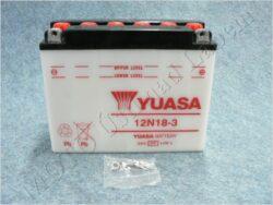 Battery assy. 12V 18Ah YUASA 12N18-3 ( 206x94x164 )