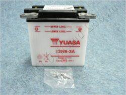 Battery assy. 12V 9Ah YUASA 12N9-3A ( 138x77x141 )
