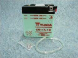 Battery assy. 6V 11Ah YUASA 6N11A-1B ( 122x62x131 )