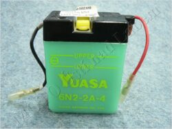 Battery assy. 6V 2Ah YUASA 6N2-2A-4 ( 70x47x96 )