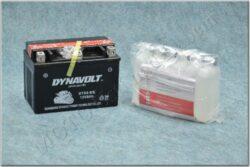 Battery assy. 12V 8Ah Dynavolt YTX9-BS ( 150x87x105 )