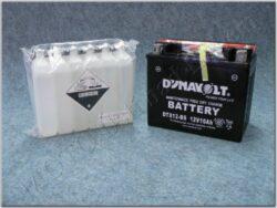 Battery assy. 12V 10Ah Dynavolt YTX12-BS ( 150x87x130 )