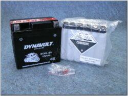 Battery assy. 12V 4Ah Dynavolt YTX5L-BS ( 113x70x105 )
