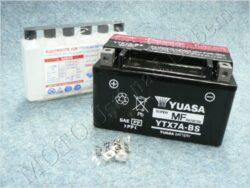 Battery assy. 12V 6Ah YUASA YTX7A-BS ( 150x88x93 )