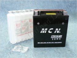 Battery assy. 12V 16Ah MCN YTX16-BS ( 148x87x163 )