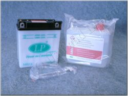Battery assy. 12V 5Ah LP 12N5-3B / YB5L-B ( 121x61x131 )