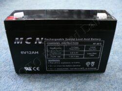 Battery assy. 6V 12Ah MCN ( 150x94x48 )