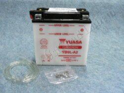 Battery assy. 12V 9Ah YUASA YB9L-A2 ( 135x75x139 )