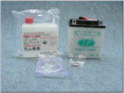 Battery assy. 6V 6Ah LP 6N6-3B ( 99x57x111 )