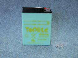 Battery assy. 6V 14Ah Toplite Yuasa B38-6A ( 119x83x161 )