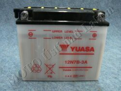 Battery assy. 12V 7Ah YUASA 12N7B-3A ( 151x61x131 )