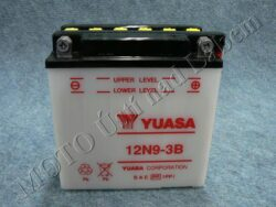 Battery assy. 12V 9Ah YUASA 12N9-3B ( 138x77x141 )