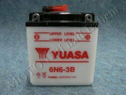 Battery assy. 6V 6Ah YUASA 6N6-3B ( 99x57x111 )