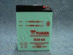Battery assy. 6V 14Ah YUASA B38-6A ( 119x83x161 )
