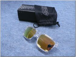 Motorcycle Goggle - gold glasses ( SHIRO )  (870031)