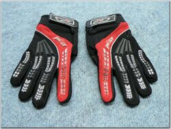 Gloves child ( PILOT ) black/red