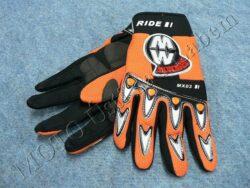 Gloves GL1 - orange ( Motowell )