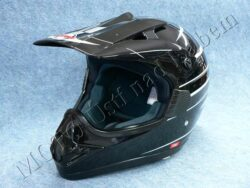 Motocross Helmet CR2 - arrow black ( Motowell )