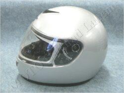 Full-face Helmet - silver ( TORNADO)