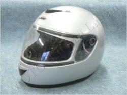 Full-face Helmet - silver ( TORNADO)(890393M)