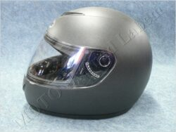 Full-face Helmet - mat black ( TORNADO)