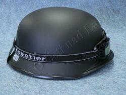 Helmet MILITARY - black w/ google ( Koestler )(890446)