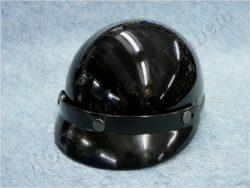 Jet Helmet Braincap - black ( Louise )