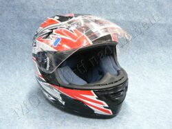 Helmet - black/red ( no name ) Size XS  (890458)