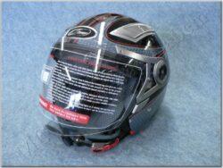 Jet Helmet - Black Drift ( MZONE )