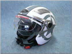 Jet Helmet - White Heavy ( MZONE )