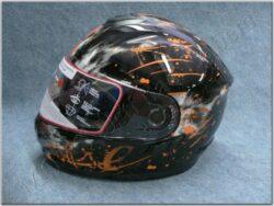 Full-face Helmet FF6G - Pach ( Motowell ) w/ Integral sun visor