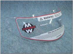 Helmet visor series FU4G, FF6G
