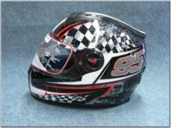 Full-face Helmet FF7 - black *95 ( Motowell )