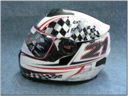 Full-face Helmet FF7 - white *21 ( Motowell )