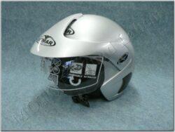 Helmet Metro - silver/metal. ( VEMAR ) Size XXL+