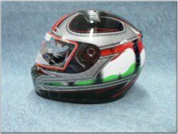 Full-face Helmet FF5 - flag ( Motowell )