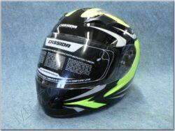 Full-face Helmet Integral 2.0 - black/grey/yellow ( CASSIDA )