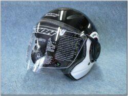 Jet Helmet N180 NEXT - black/white ( NOX )