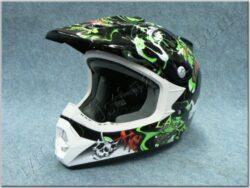 Children Cross Helmet Monstro Junior ( X6 )