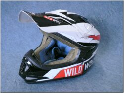 Children Cross Helmet MX-306 Wild Wolf ( SHIRO )
