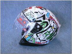 Jet Helmet SH-20 Comic Kids Blanco ( SHIRO )(890820M)